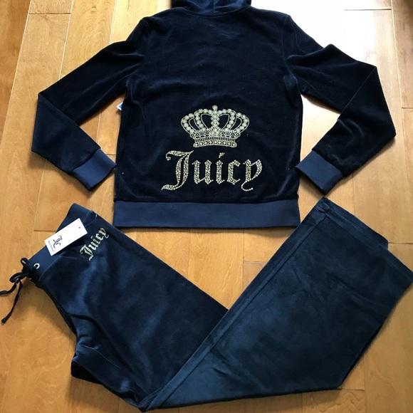 ef00eef84bf Juicy Couture crown mar velour tracksuit